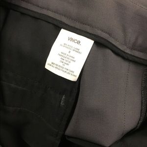 Vince Pants - Vince tuxedo gray light wool pants size 8